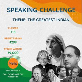 Melio- The Greatest Indian' Speaking Challenge ( Republic Day Special)