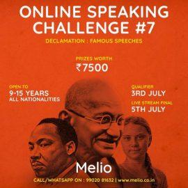 Melio Online Speaking Challenge #7