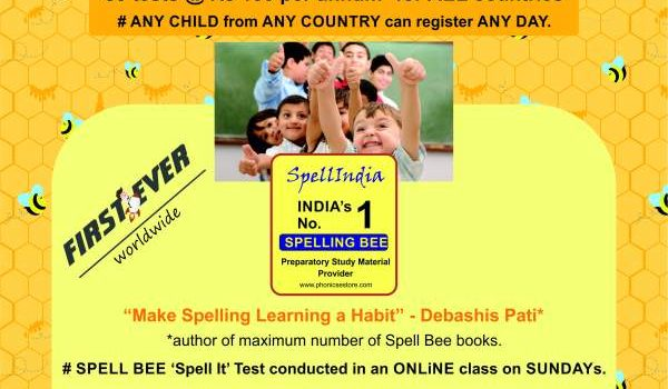 Spelling SUNDAY TESTS | JUNIOR KG TO CLASS 10