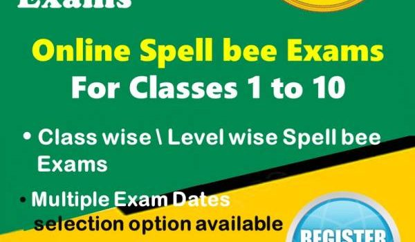 Online Spellbee Exams for Kids For Classes 1 to 10