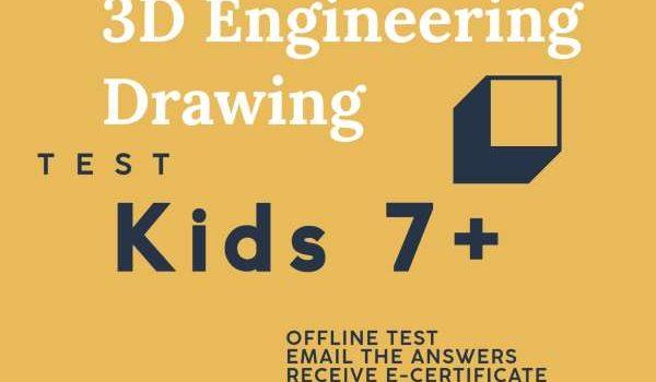 3D Engineering Design Test by Brainzy kids