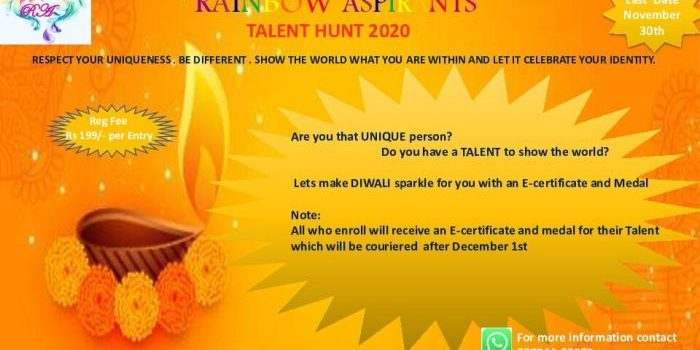 Rainbow Aspirants  Presents  Talent Hunt 2020
