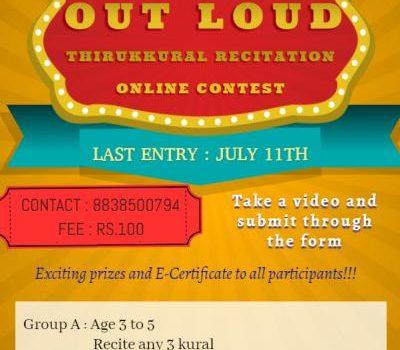 Thirukkural Recitation Contest