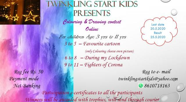 Biggest Online Colouring and Drawing Contest for Kids