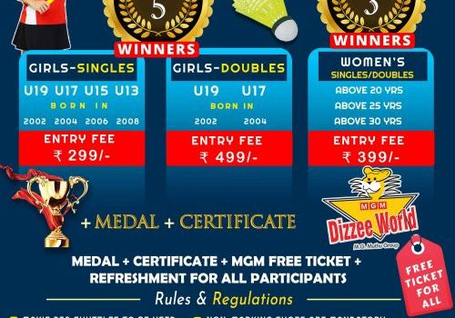 WBC'21 | Women's Day Badminton Championship (Exclusively for Girls & Women)