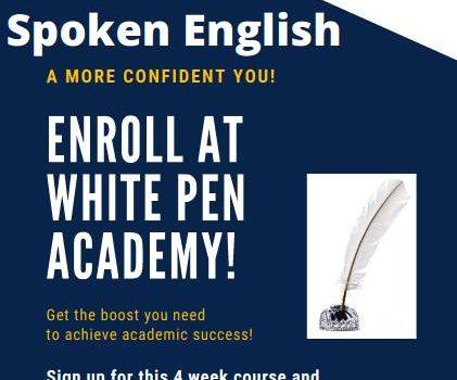 Whitepen Academy – Spoken English Summer camp