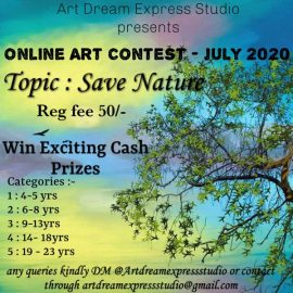 Artdream Express Studio Online Art Contest – July 2020