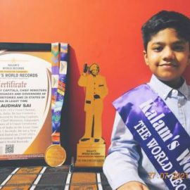 A .Audhav Sai | Tiny Talent with an amazing Memory Power & Kalam's  Record Holder