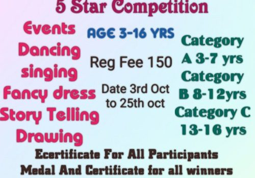 Awesome Kids 5 Star Competition