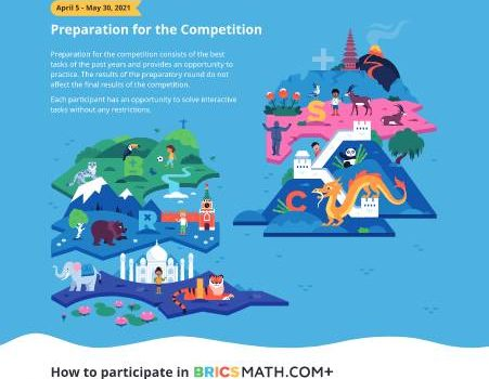 BRICSMATH.COM Online Math Competition 2021 for Grades 1 to 12 | FREE Entry