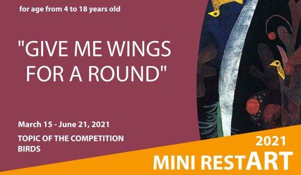Мini restART 2021 | 3rd International Children Art Exhibition of Small Format