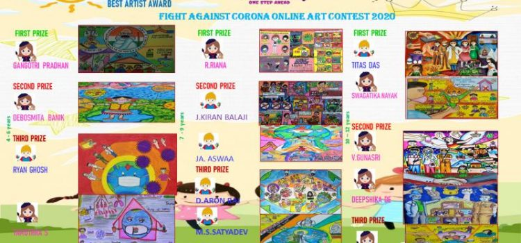 Camrock Fight against Corona – Online Art Contest 2020 Results