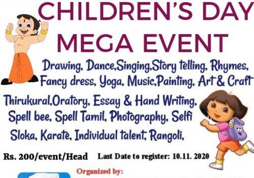 CHILDREN'S DAY MEGA EVENT-2020