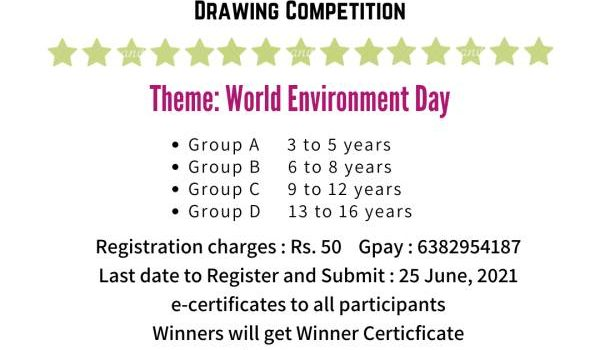 Creatively Unique  ONLINE DRAWING COMPETITION for June 2021