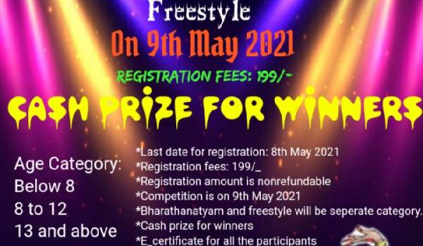 Shree Abinaya Academy Online Dance & Drawing Competitions 2021