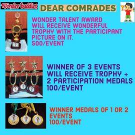 WONDER BUDDIES 10th Event DEAR COMRADE