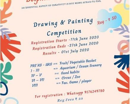 Dolphin Academy Online Drawing & Painting Competition for Kids PRE KG to 8th grade
