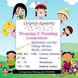 Online Drawing & Painting Competition for Kids Pre KG to 8th Grade