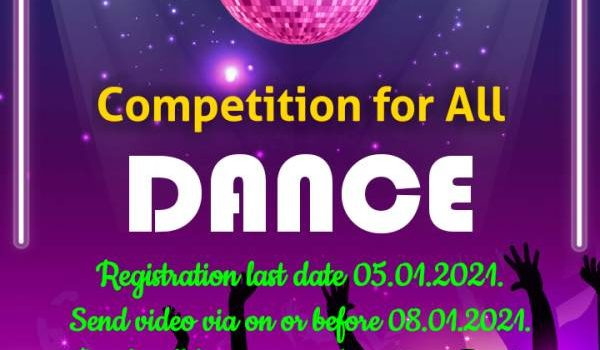 Dream Talent Dance Contest