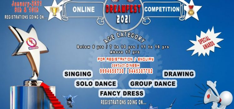 International Online Competition DREAMFEST 2021