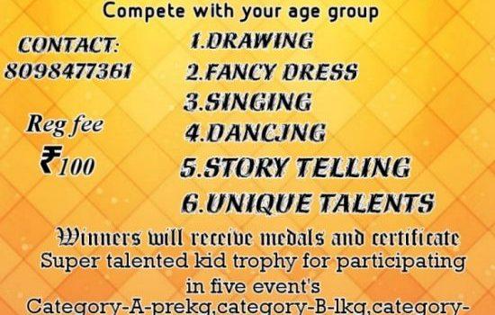 Enchanting Kids Super Talented Kids Contest