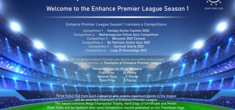 Enhance Team presents Premier League 2020 – Season 1