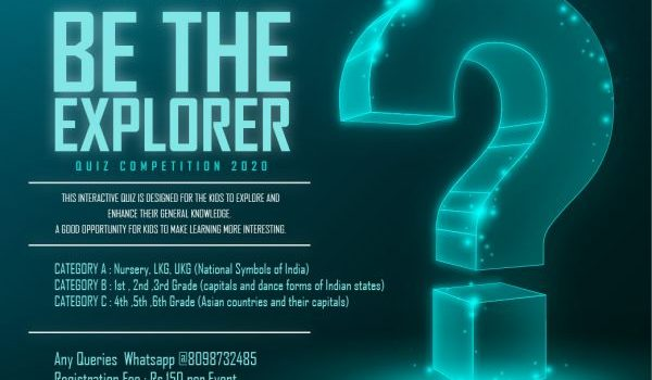 Be The Explorer Quiz Competition 2020 by Enhance Team