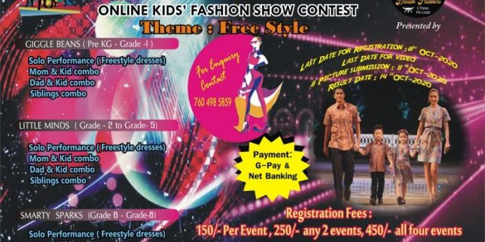 FAB KIDS CLEVER ENDEAVOURS 2020 Online Fashion Show for Kids