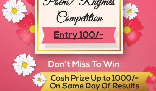 Fairy Kids National Level Rhymes/Poem Contest