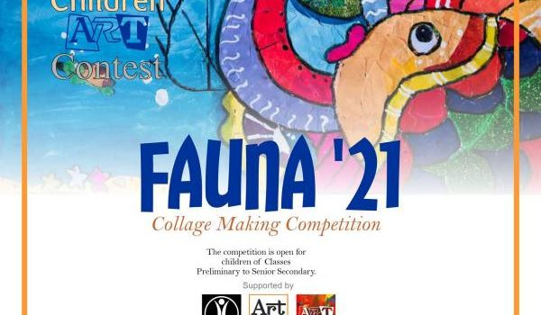 FAUNA '21 (Collage Making Competition) By Shanker Art Foundation & Children Art Contest