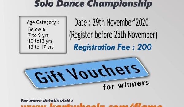 Flame – Online Event | Solo Dance Championship