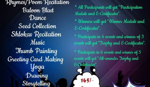 National Level 'LOVE YOUR TALENT 2021' Contest by Flying Petals