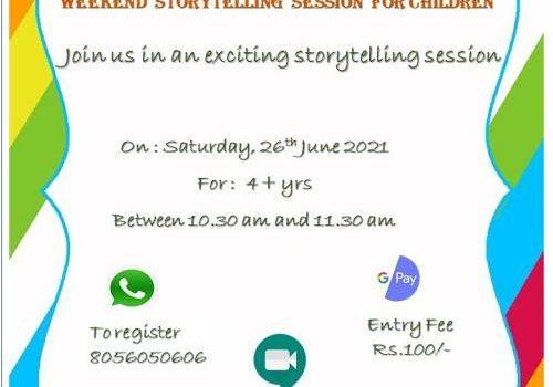 Weekend Storytelling Session