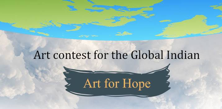 """Unique Contest """"Art for Hope"""" for Overseas Indians"""
