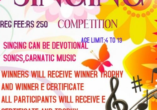 SINGING Online Contest 2021 by HARSH TWINKLE STARS