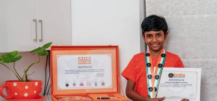 Hayan Abdulla | 9 Year Old Little Chef Entered Asia book of Record & India Book of Record
