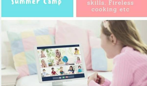 Online Summer Camp for Kids by Hansel and Gretel kids