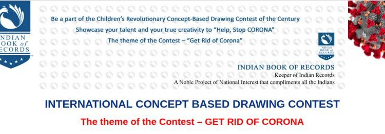 Indian Book of Records International Concept based Drawing Contest