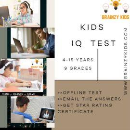 IQ Test from Brainzy Kids