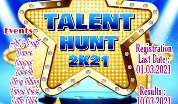 Jackhi Creations & International Champions Academy TALENT HUNT 2K21