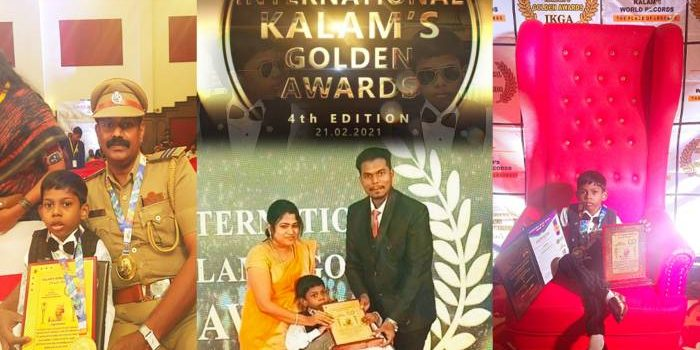 JASHWANTH creates another new world record & becomes Youngest Achiever of the Year 2021