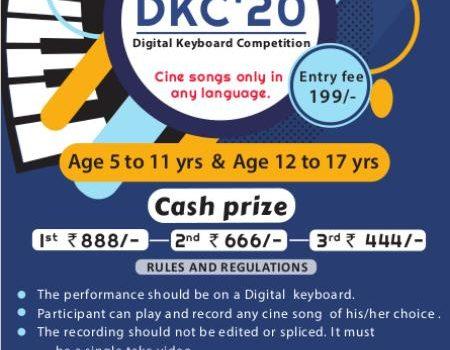DKC'20 – Digital Keyboard Competition for School Children