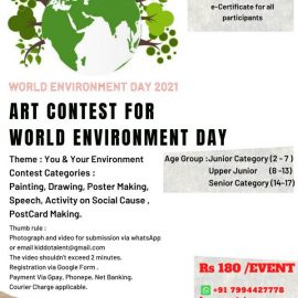 Art Contest 2021| International Online Competition by Kiddotalent
