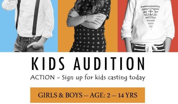 KIDS AUDITION for Casting