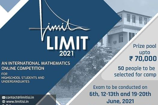LIMIT International Open book Online Mathematics Competition 2021 by Indian Statistical Institute Bangalore