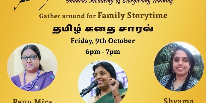 Remembering Bapu – Virtual Storytelling Event in Tamil