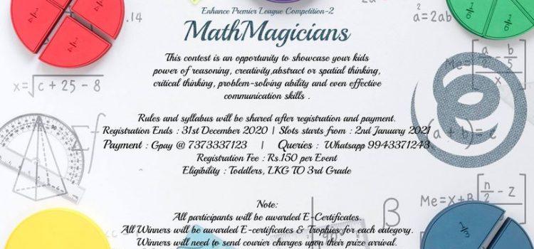 MathMagicians | Enhance Premier League Competition-2