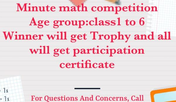 Minute Math Competition