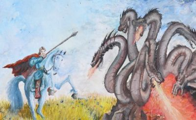 Mythological Animals in the Stories of My Country| 11th Golesti Museum International Art Contest 2021 for Children