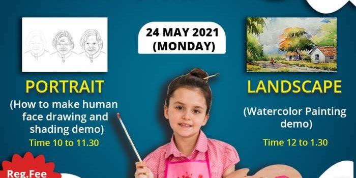 FREE ART CAMP FOR KIDS by SPORTENA ACADEMY